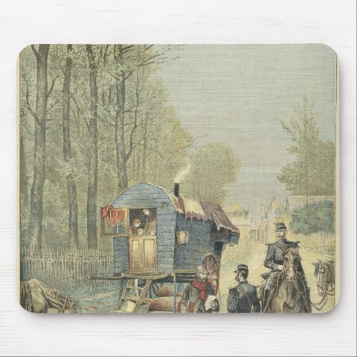 Census of Travellers in France Mousepads