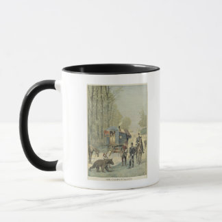 Census of Travellers in France Mug