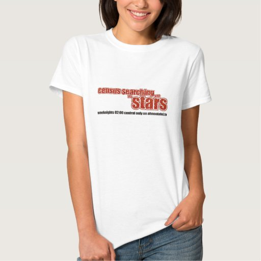 Census Searching With The Stars T Shirt