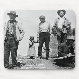 Census Taking, 1911 Mouse Pad