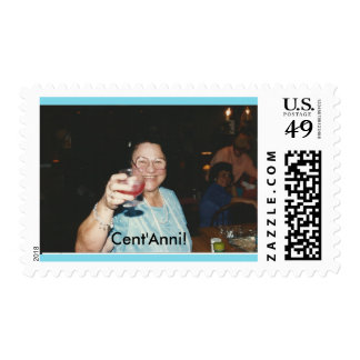 Cent'Anni! Stamp featuring Mama Tunno