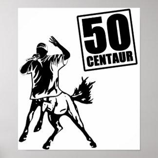 Centaur 50 póster