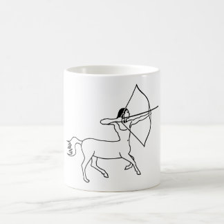 centaur archer sagittarius coffee mug