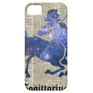 Centaur Archer Space Collage Over Old Book Page iPhone SE/5/5s Case