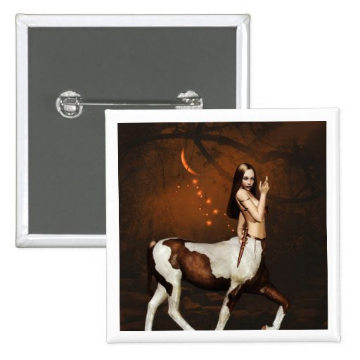 Centaur at Night Button