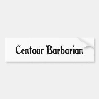 Centaur Barbarian Sticker