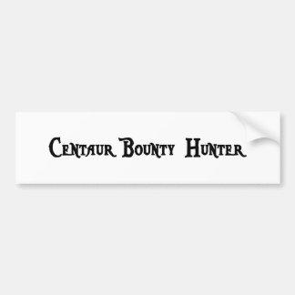 Centaur Bounty Hunter Bumper Sticker