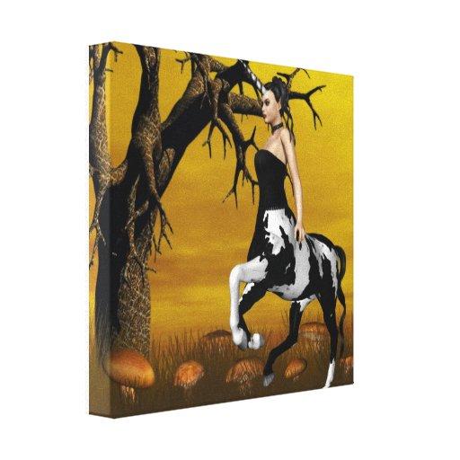 Centaur Canvis Print Canvas Print