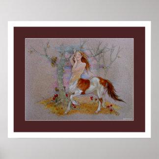 Centaur - danza del otoño posters