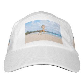 Centaur en la playa gorras de alto rendimiento