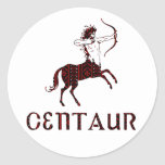 Centaur Etiqueta Redonda