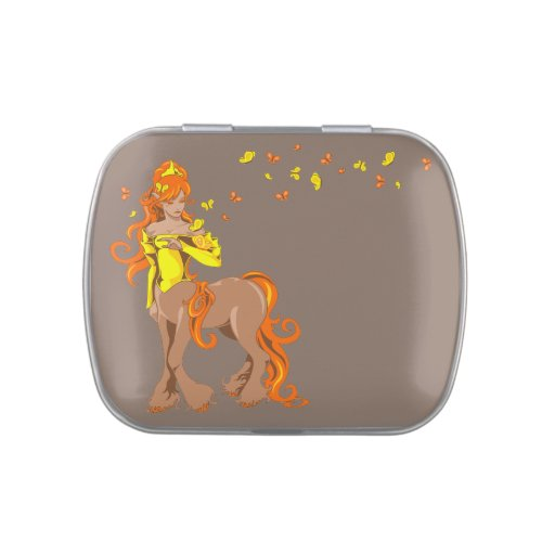 Centaur femenino latas de caramelos