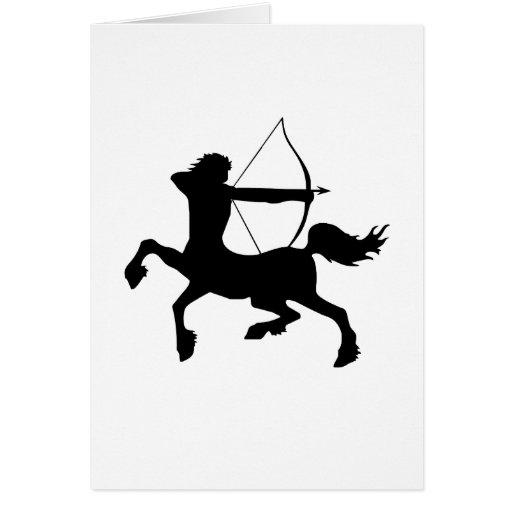 Centaur Greeting Card