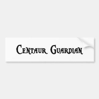 Centaur Guardian Bumper Sticker