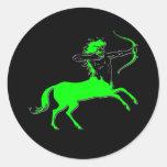 Centaur II Etiquetas Redondas