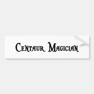 Centaur Magician Bumper Sticker