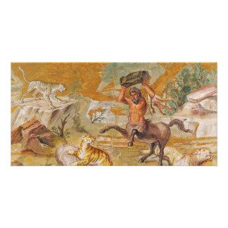 Centaur Mosaic Killing A Tiger 100AD-200AD Card