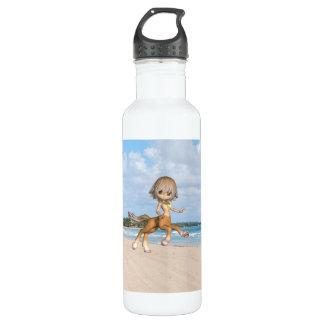 Centaur on Beach 24oz Water Bottle