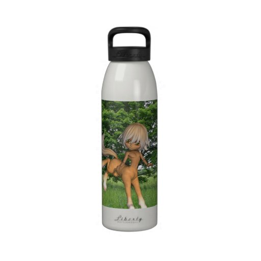 Centaur Playing Water Bottle