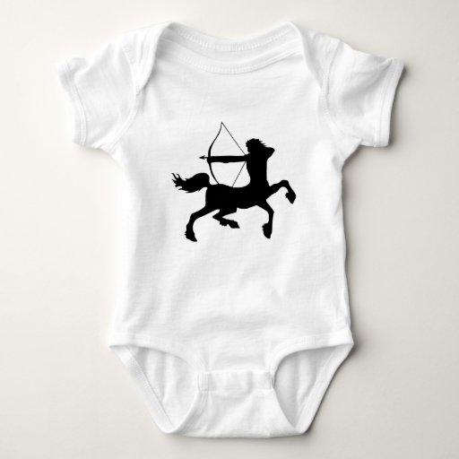 centaur sagitarius Fantasy Baby Bodysuit