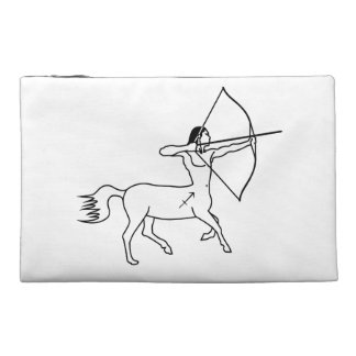 centaur sagittarius greek astrology zodiac travel accessories bag