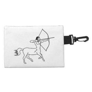 centaur sagittarius greek astrology zodiac accessory bag