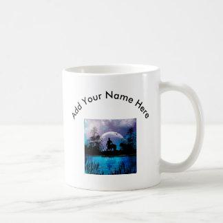 Centaur silhouette coffee mug