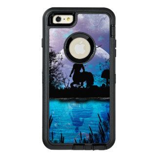 Centaur silhouette OtterBox defender iPhone case