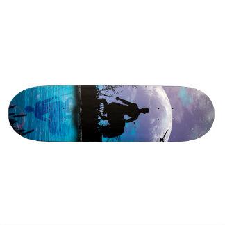 Centaur silhouette skateboard deck