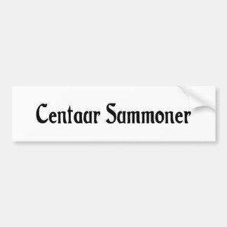 Centaur Summoner Bumper Sticker