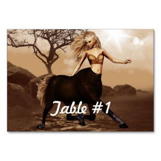 Centaur Table Cards