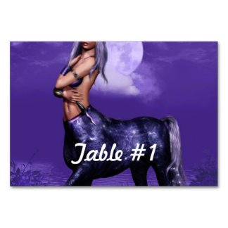 Centaur Table Card