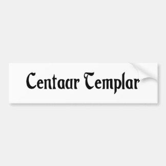 Centaur Templar Bumper Sticker
