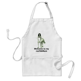 Centaura Welcome to my resTAURant Adult Apron