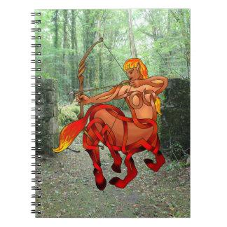 Centauress Spiral Note Books