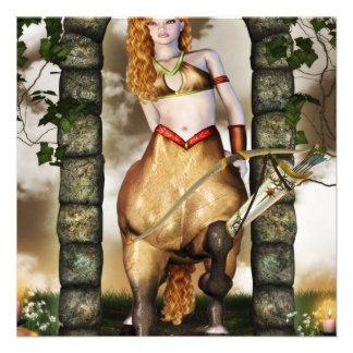 Centaurian Custom Invitation