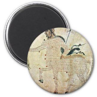 Centaurs de Aretea-The de Karolingischer Buchmaler Imán