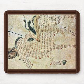 Centaurs de Aretea-The de Karolingischer Buchmaler Alfombrillas De Ratón