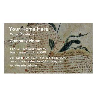 Centaurs de Aretea-The de Karolingischer Buchmaler Tarjetas De Visita