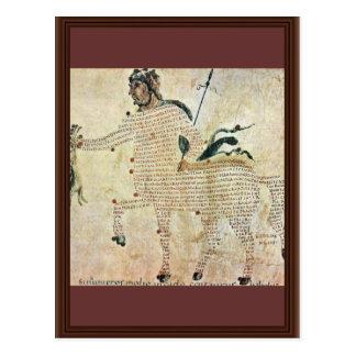 Centaurs de Aretea-The de Karolingischer Buchmaler Postales
