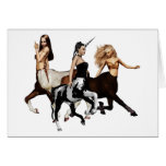 Centaurs Note Card
