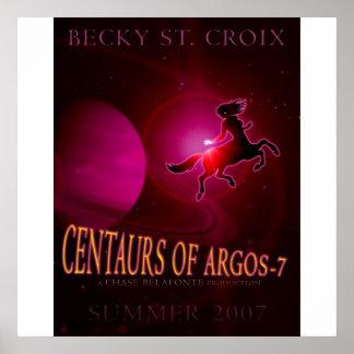 CENTAURS OF ARGOS 7 POSTER