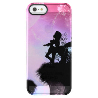 Centaurs silhouette in the night clear iPhone SE/5/5s case