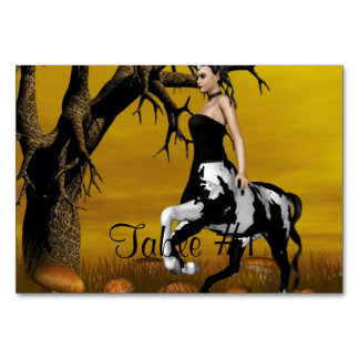 Centaurs Table Cards