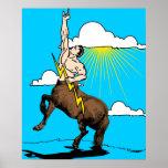 Centaurs Vintage Poster