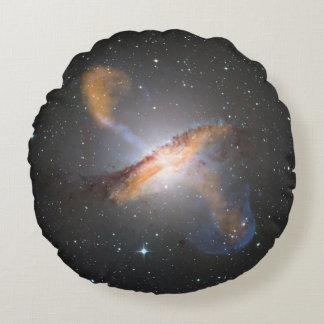 Centaurus A Round Pillow