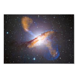 Centaurus A Shows a Supermassive Black Holes Power 3.5x5 Paper Invitation Card