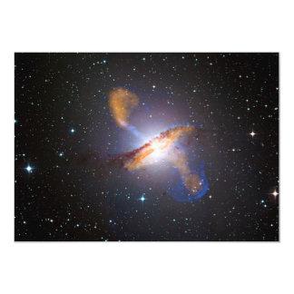 Centaurus A Shows a Supermassive Black Holes Power 5x7 Paper Invitation Card