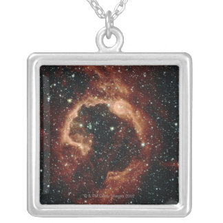 Centaurus Star Formation Silver Plated Necklace