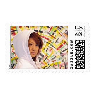 Centavo de Hip Hop Yuki 58 Timbre Postal